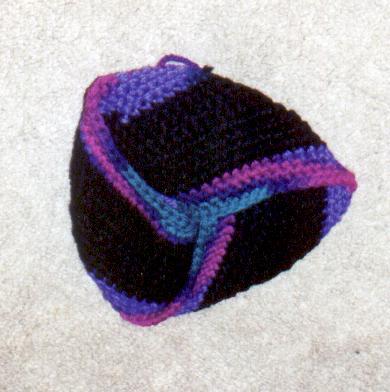 Moebius strip knit